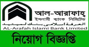 Al-Arafa Islami Bank Limited Job Circular 2020