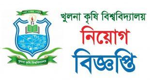 Khulna Agricultural University Job Circular 2020 - www.kau.edu.bd