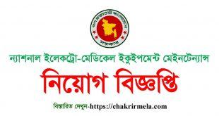 NEMEMW Job Circular 2020 – www.nememw.gov.bd
