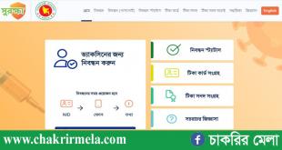 Covit-19 Vaccine Registration - www.surokkha.gov.bd