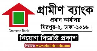 Grameen Bank Job Circular 2020 – www.grameen.com