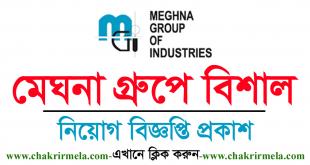 Meghna Group Job Circular 2021 - www.mgi.org