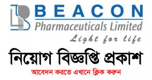 BEACON Pharmaceuticals Limited Job Circular 2021 - www.beaconpharma.com.bd