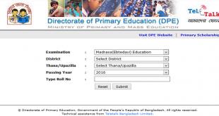 PSC Education Board Result Bangladesh 2021 - dpe.gov.bd