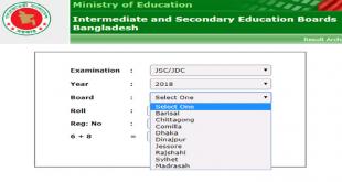 JSC Result 2021 - www.educationboardresults.gov.bd