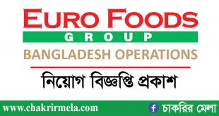 Euro Foods Group Job Circular 2021 | www.eurofoods-bd.com